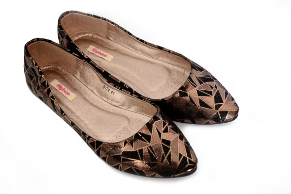 Buy Platinum Wc002 Black Shoes 3