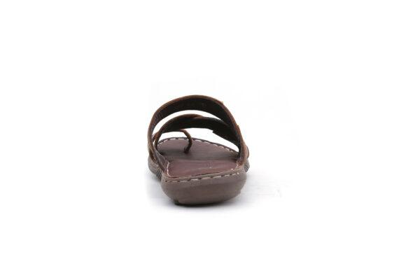 Buy Portus Black,and Brown Color Slipper  4