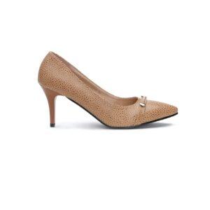 Buy Queen Heel Brown Color Shoes 1