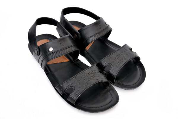 Buy Razmak Stylish Black Color Sandal Shoes 1
