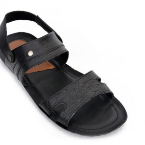 Buy Razmak Stylish Black Color Sandal Shoes 2