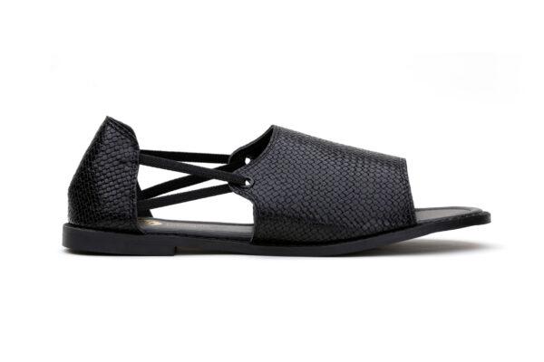 Buy Saga Ls012 Black Color Shoes 4