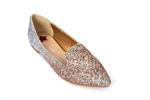 Buy Sangeet Wc21 Light Golden Color Shoes 2