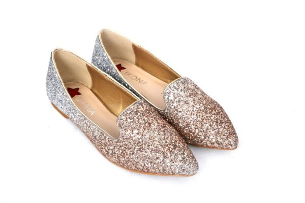 Buy Sangeet Wc21 Light Golden Color Shoes 3