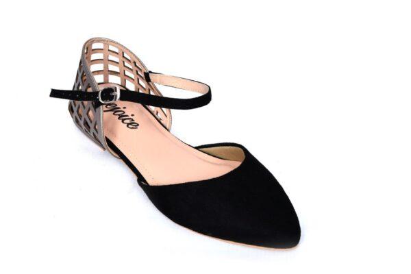 Buy Season Ls002 Black Color Shoes 2