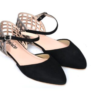 Buy Season Ls002 Black Color Shoes 5