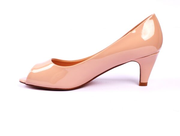 Cat 002 Silver Color High Heel Shoes 3