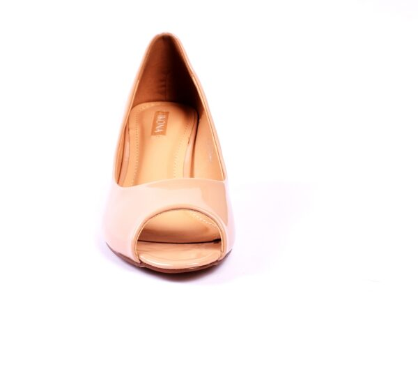 Cat 002 Silver Color High Heel Shoes 5