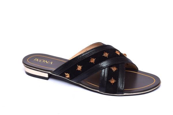 IKona Sw003 Black Color Shoes