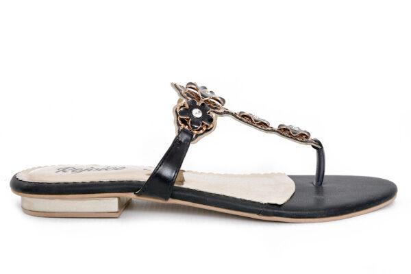 Iconic Sw008 Black Color Shoes 1