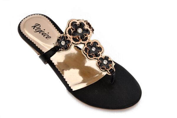 Iconic Sw008 Black Color Shoes 2