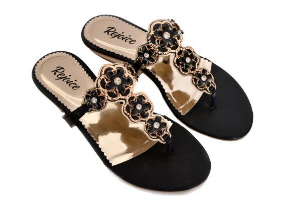 Iconic Sw008 Black Color Shoes 3