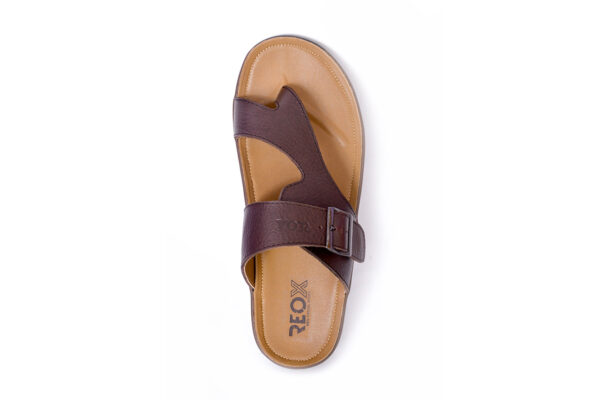 Jimmy Leather Material Coffee Color Slipper 5