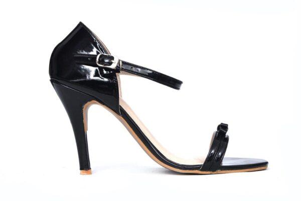 Season Ls003 Black Color Pencil Heel Shoes 1