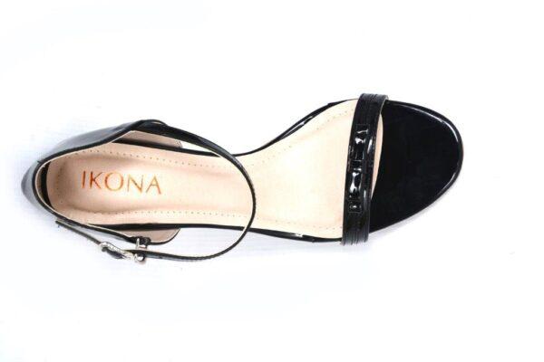 Season Ls003 Black Color Pencil Heel Shoes 2