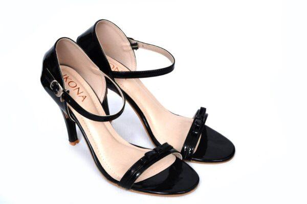 Season Ls003 Black Color Pencil Heel Shoes 4